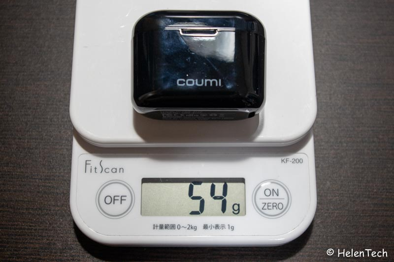 review coumi tws 015-低価格な完全ワイヤレスイヤホン「COUMI TWS-817A」をレビュー