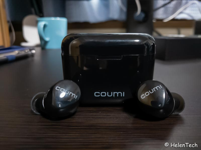 review coumi tws 018-低価格な完全ワイヤレスイヤホン「COUMI TWS-817A」をレビュー