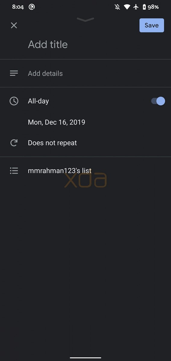 5 Google Calendar Edit Task-スマホのGoogleカレンダーとGoogle Todoリストがようやく統合されます