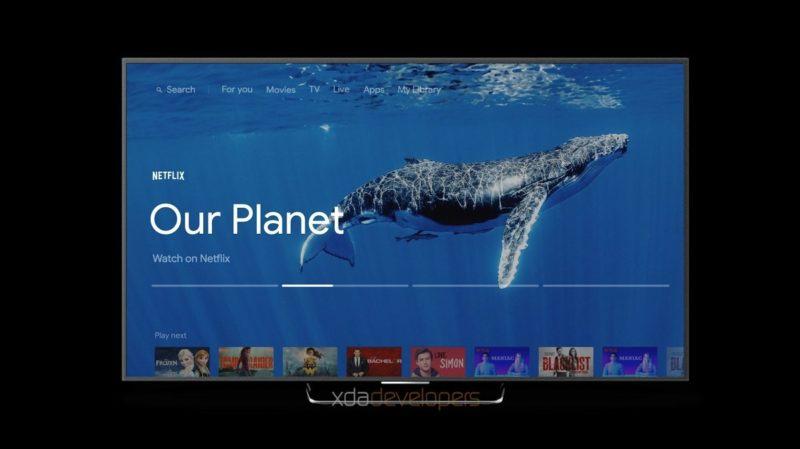 Android TV New UI Watermarked 2 800x449-「Sabrina」と呼ばれるGoogleの次期Android TVデバイスのレンダリングが登場