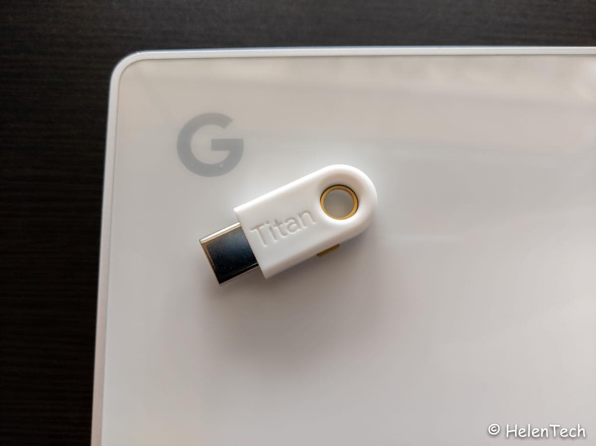 Google Titan Security Key now available for iOS-Googleの「Titan Security Key」がiOSでも利用可能になりました