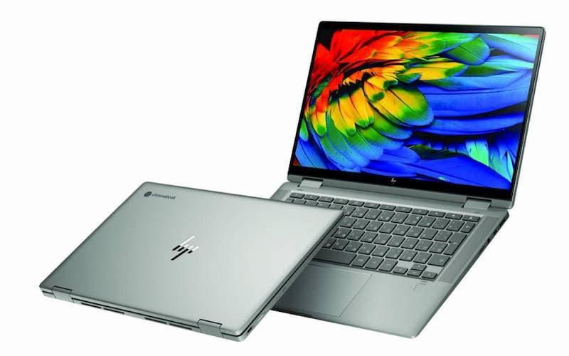 HP Chromebook x360 14c MineralSilver FrontLeftOverlap 1280x800 1-HPが「Chromebook x360 14c」と「Chromebook 11a」を海外でリリース
