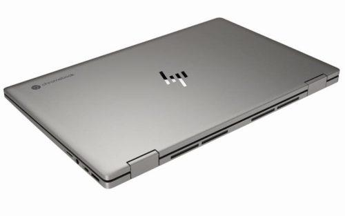 HP Chromebook x360 14c MineralSilver RearLeftClosed 1 500x313-HPが「Chromebook x360 14c」と「Chromebook 11a」を海外でリリース