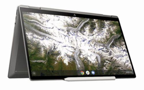 HP Chromebook x360 14c MineralSilver Tent 1 500x313-HPが「Chromebook x360 14c」と「Chromebook 11a」を海外でリリース