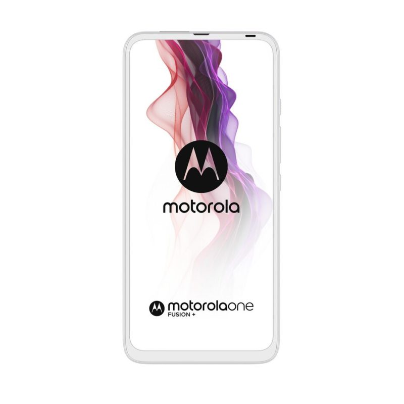 motorola one fusion Moonlight White FRONTSIDE 800x800-モトローラの「Motorola One Fusion +」がヨーロッパ市場で発表