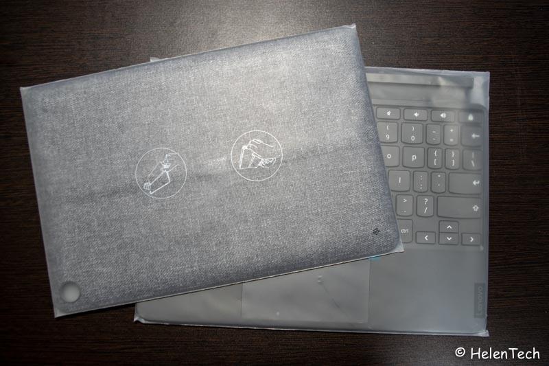 review lenovo duet chromebook 004-「Lenovo IdeaPad Duet Chromebook」をレビュー!タブレットとの中間、こんなモデルが欲しかった