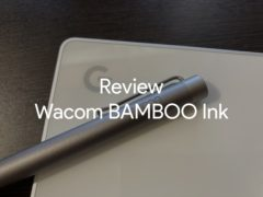 review wacom bamboo ink 00 240x180-ワコムの「BAMBOO Ink」をPixelbook用にいまさら購入したのでレビュー