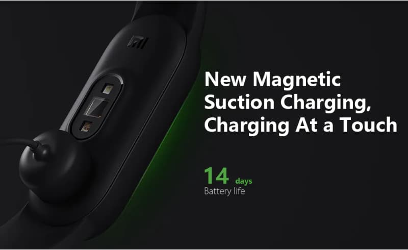 xiaomi miband 5 new magnet charge-GearBestで「Xiaomi Mi Band 5」が約4,000円(送料込)からになるクーポンセール開催中[PR]