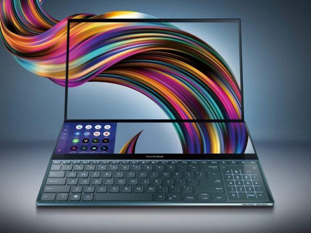 ASUS ZenBook Duo Pro 640x480-Googleがデュアルタッチスクリーン対応のChromebook「Palkia」をテスト中