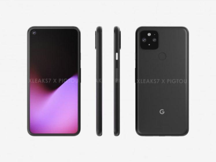 new render google pixel 5 00 748x561-「Google Pixel 5」の新しいレンダリングが登場。「Pixel 4」に似たデザインになるかも