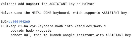 Screenshot 2020 08 28 at 15.40.23-Chromebook「Halvor」が「Google Pixelbook 2」かも?専用アシスタントキーをサポート