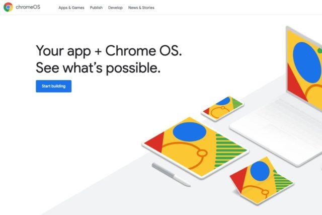 google chromeos dev site 640x427-Chromebookでアプリ開発する人向けに「ChromeOS.dev」サイトをGoogleが公開