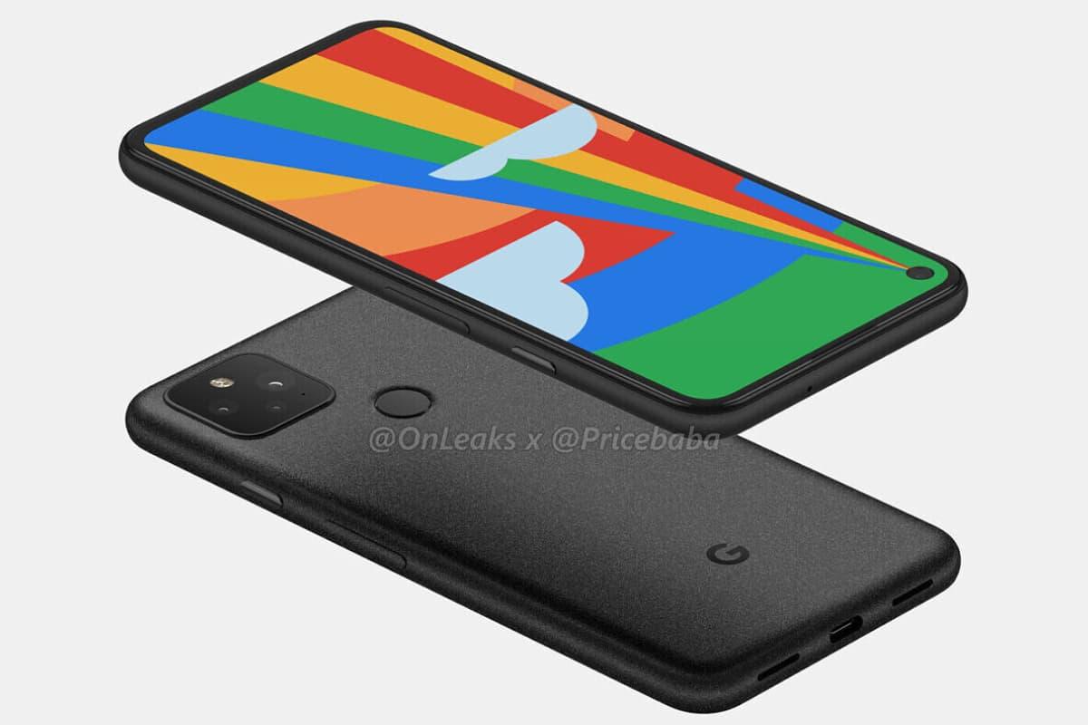 pixel 5 new render 01-Google Pixel 5 に関する新たなレンダリングがリーク。パンチホールディスプレイと背面指紋センサ搭載