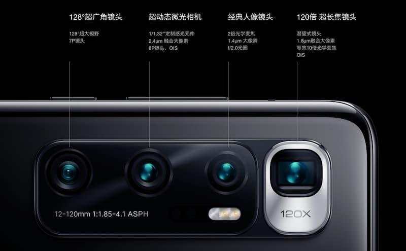 xiaomi mi 10 ultra camera-Xiaomiが5G対応「Mi 10 Ultra」を発表。最大16GBRAMや超低照度レンズ、120W充電などを搭載