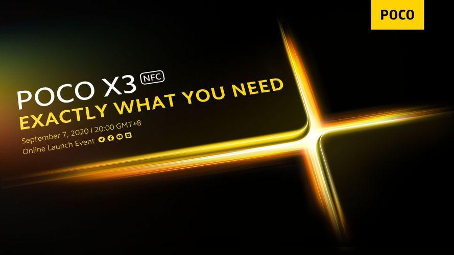 POCO-X3-NFC-launch-date