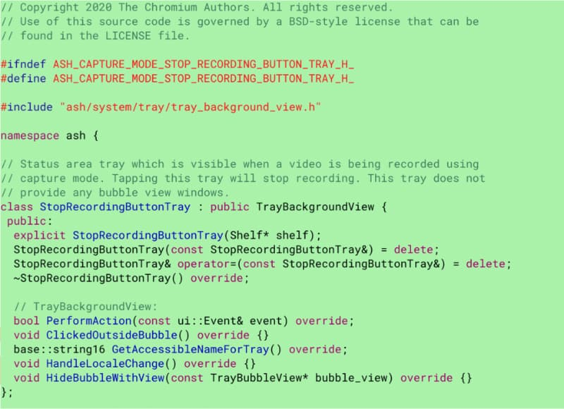 chromebook screen recode code-Chromebookにスクリーンレコーダー機能が標準搭載されるかもしれません