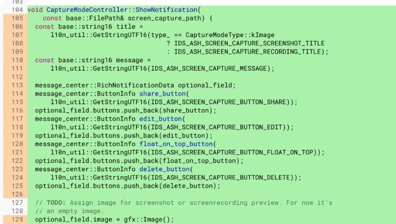 chromebook screen recording code 2-Chromebookにスクリーンレコーダー機能が標準搭載されるかもしれません