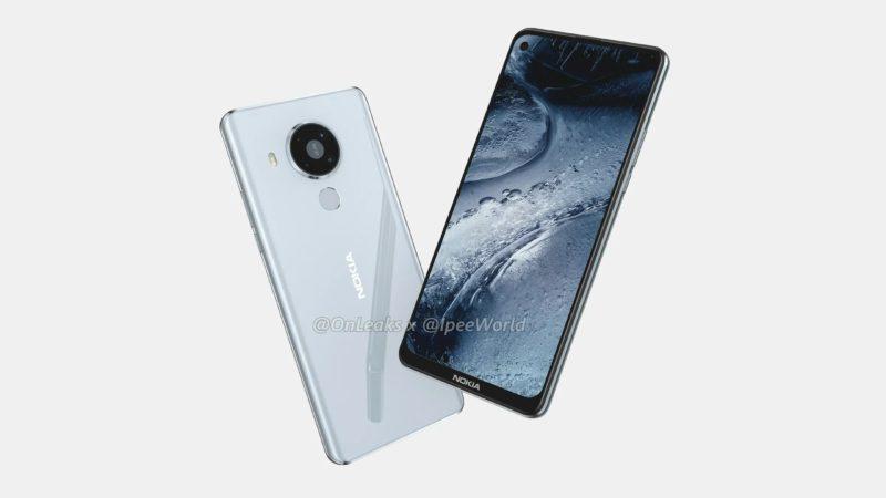 nokia 7.3 2 800x450-Nokia 7.3 5G のレンダリングがリーク。パンチホールディスプレイとクアッドカメラ搭載