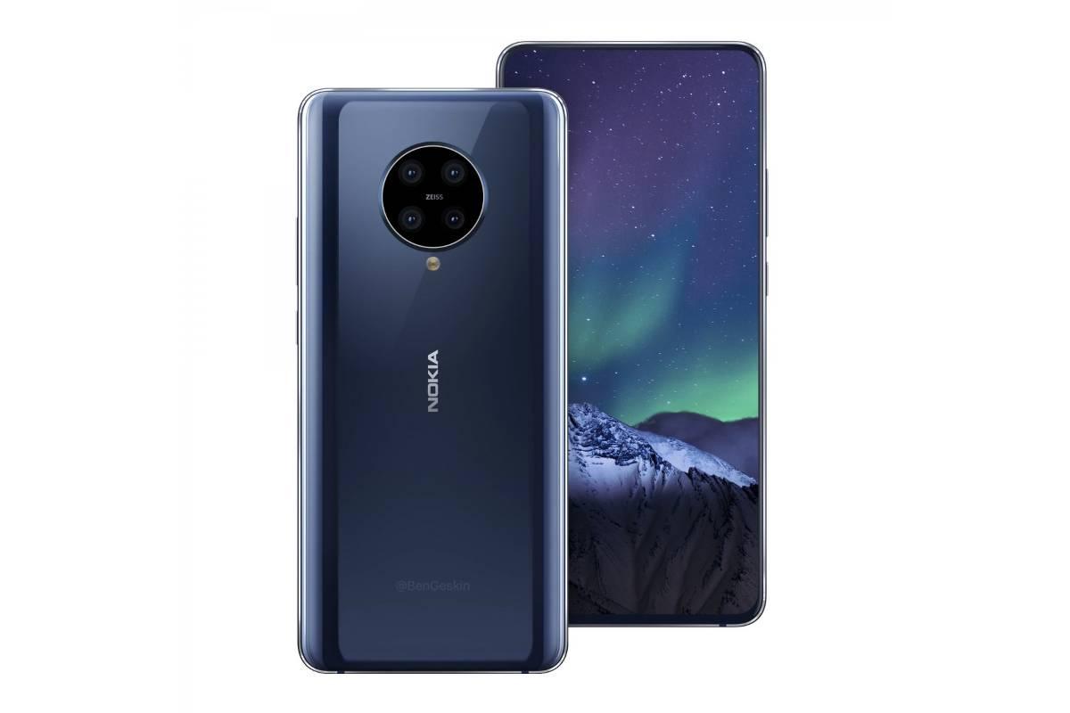 nokia 9 3 concept image-Xiaomi Redmi Note 10 のレンダリングがリーク。Snapdragon 765Gと48MPリアカメラ搭載