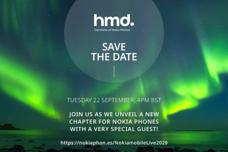 nokia mobile 2020 sep 22 748x499-Nokia Mobileが9月22日にスマートフォンの発表イベント開催を予告