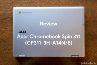 review acer cb spin 311 320x213-Amazonで「Acer Chromebook Spin 311 CP311-3H」の英語配列モデルが24,800円のタイムセール!