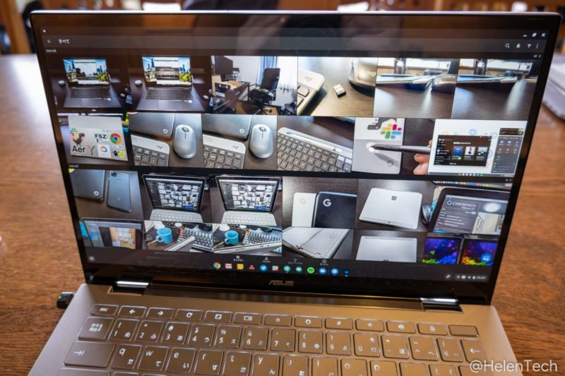 review asus cb c436 028 800x533-「ASUS Chromebook Flip C436FA」の日本モデルをレビュー!これぞ最高峰の1台、もっと早くに出ていれば…