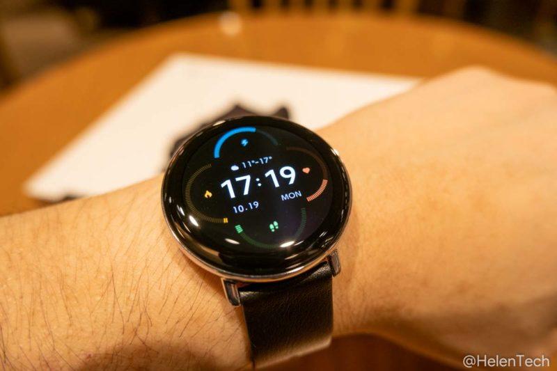 review zepp e 015 800x533-「Zepp E Smart Watch Circle」をレビュー!軽くて使い勝手の良いスマートウォッチ