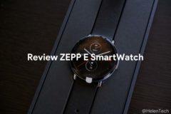 review zepp e 240x160-「Zepp E Smart Watch Circle」をレビュー!軽くて使い勝手の良いスマートウォッチ