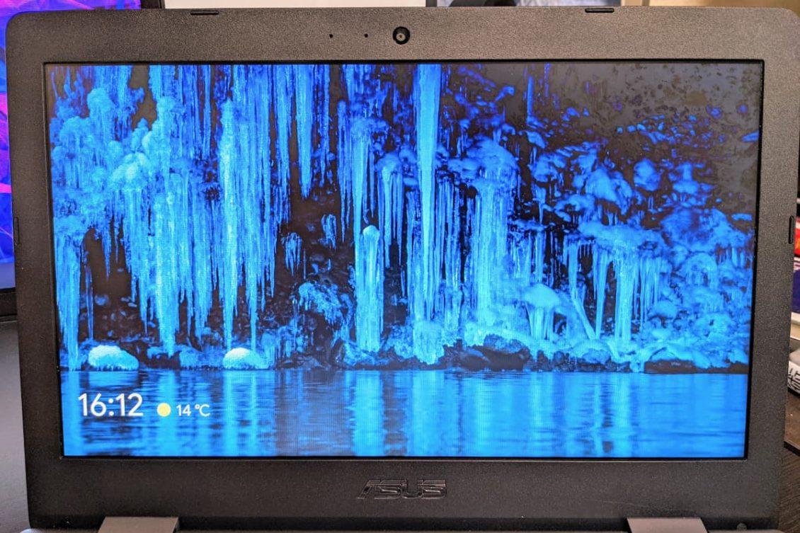 chromeos 88 ambient mode 1130x753-ChromebookのスクリーンセーバーがChrome OS 88 で公開予定