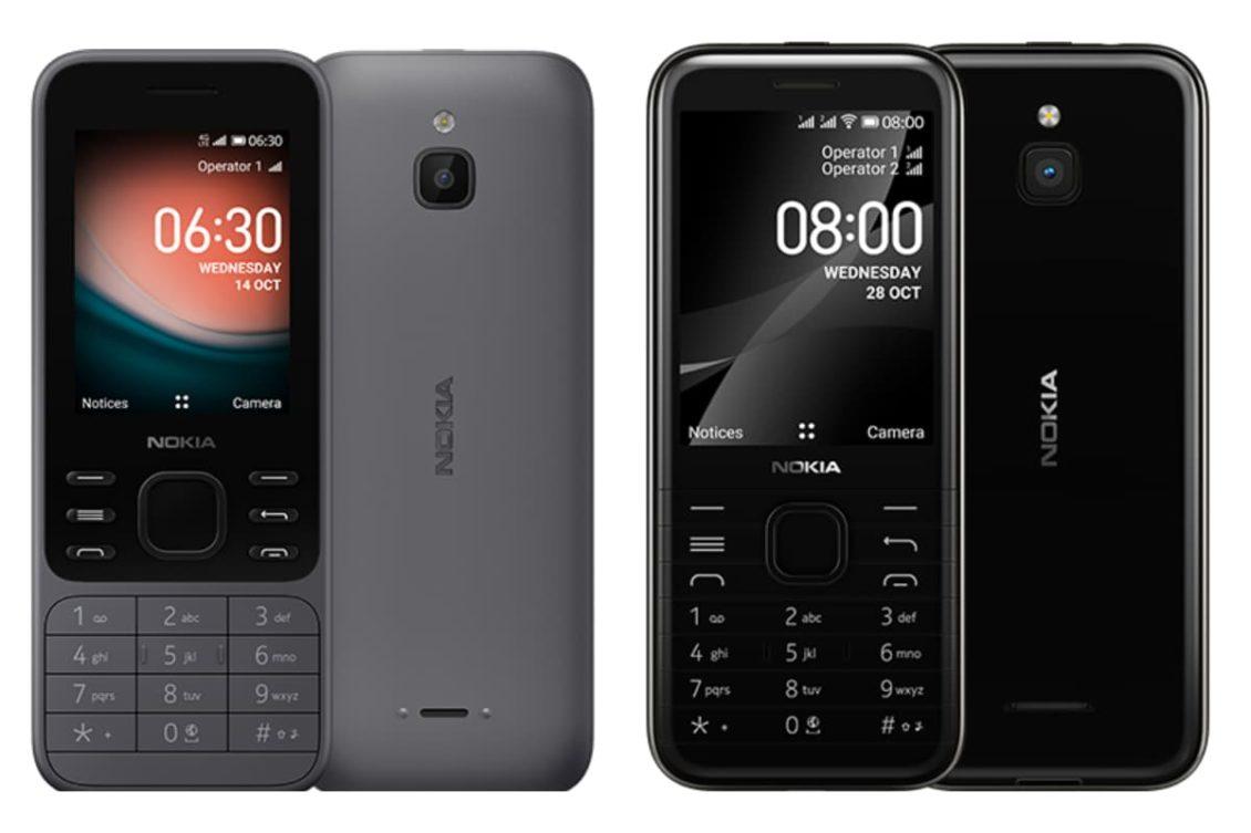 nokia 6300 8000 4g release 1130x753-「Nokia 6300 4G」と「Nokia 8000 4G」が正式リリース。Kai OS搭載のフィーチャーフォン