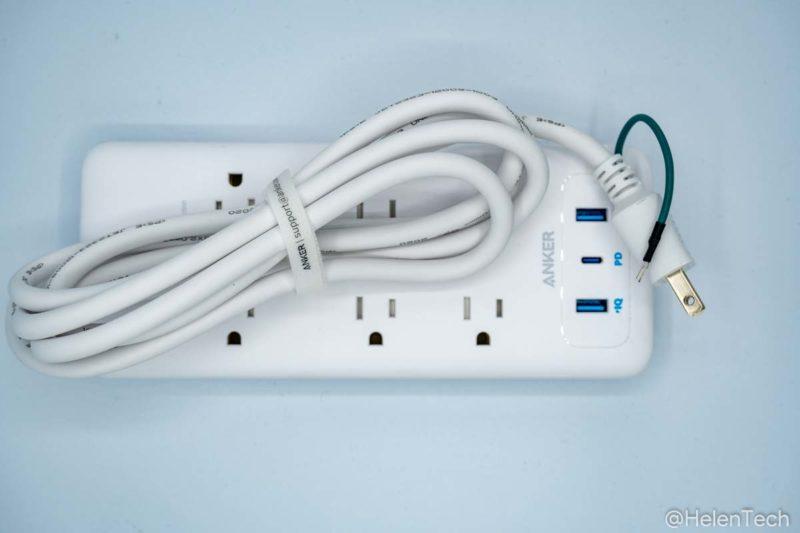 review anker pps pd 6 003 800x533-「Anker PowerPort Strip PD 6 (USBポート付き電源タップ)」をレビュー。海外製品を使うときにも便利な1台