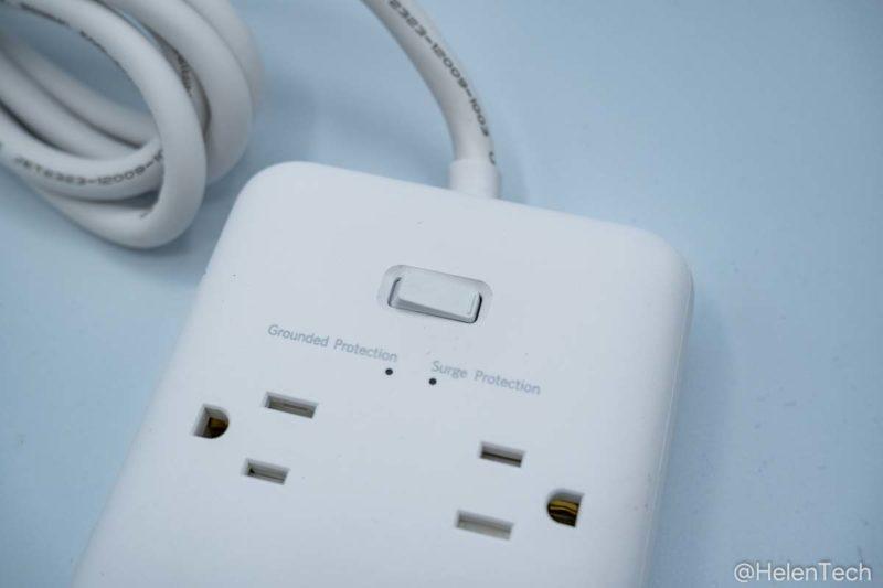 review anker pps pd 6 006 800x533-「Anker PowerPort Strip PD 6 (USBポート付き電源タップ)」をレビュー。海外製品を使うときにも便利な1台