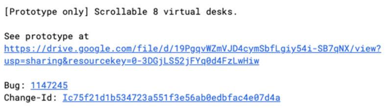 rumor Scrollable 8 virtual desks ss1 800x220-Chromebookの仮想デスクが最大8つまで作成できる可能性があります