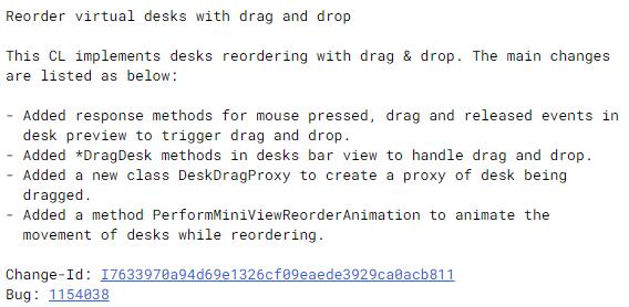 Reorder virtual desks with drag and drop-今後、Chromebookの仮想デスクをドラッグアンドドロップで並べ替えなど機能がアップデートされます