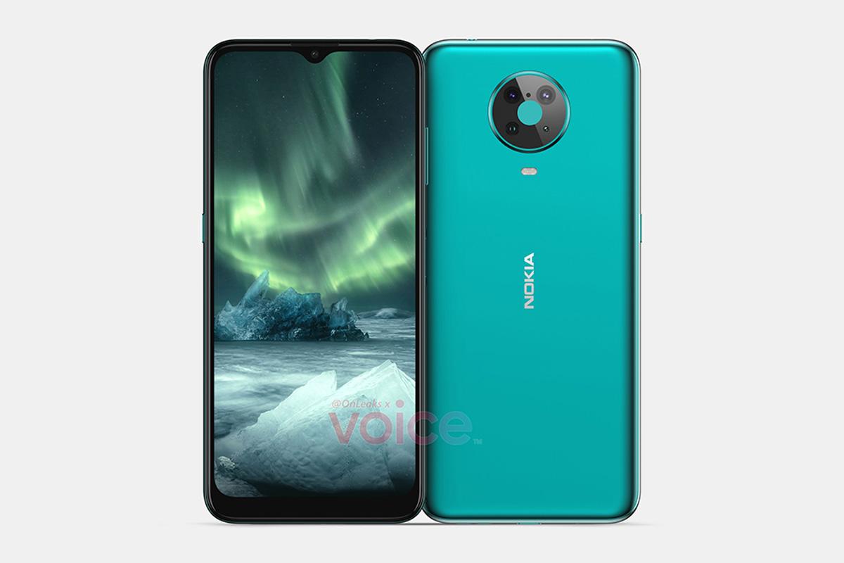 leak nokia 6 4 render image 00-「Nokia 6.4」のレンダリングがリーク。側面部指紋センサとクアッドリアカメラを採用