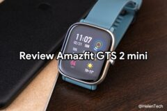 review amazfit gts 2 mini 240x160-ノキアの「Nokia True Wireless Earbuds」を購入したのでレビュー!