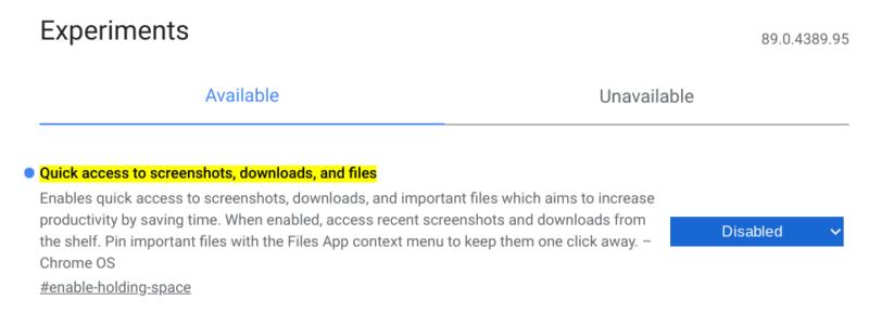 Screenshot 2021 04 01 13.32.19 800x289-Chromebookのトート機能を無効にする方法(Chrome OS 89)