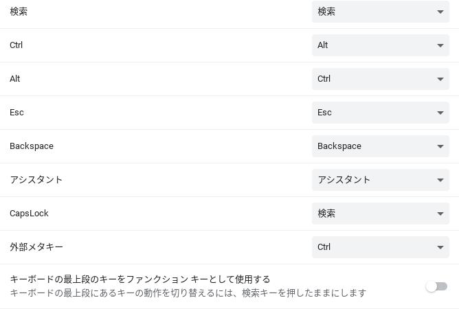 Screenshot 2021 04 09 11.00.59 1-Chromebookのショートカットキーもカスタマイズできるようになるかもしれません