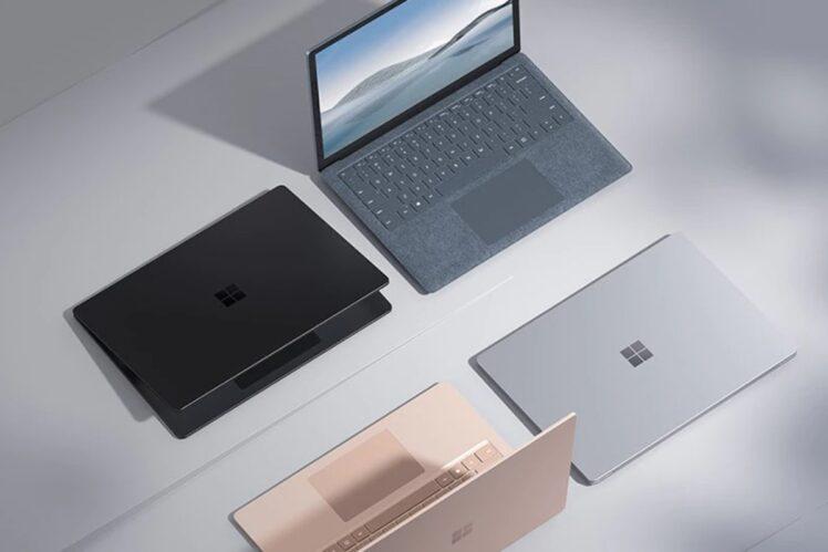 microsoft release surface laptop 4 748x499-マイクロソフトが「Surface Laptop 4」を発表。第11世代CoreシリーズとRyzen 4000シリーズを搭載