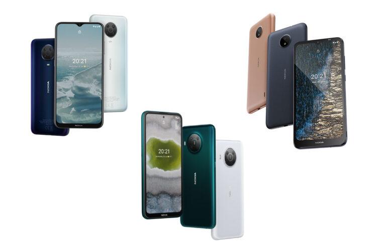 nokia release x g c series 748x499-Nokiaが「X」シリーズ、「G」シリーズ、「Cシリーズ」から手頃な価格のスマートフォンを6機種発表しました。