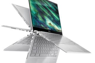 28595384e12a74f0eb63c289494e8edf-ASUSがついに「Chromebook Flip C436FA」をCES 2020で発表!指紋センサとUSIスタイラスペン対応