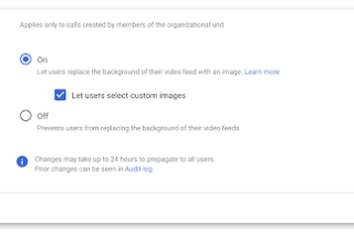ba58a3790ded54f1390dd4283b1d1e32-Google Meetのカスタム背景とプリセットの背景の使用許可を管理コンソールから変更できるようになります